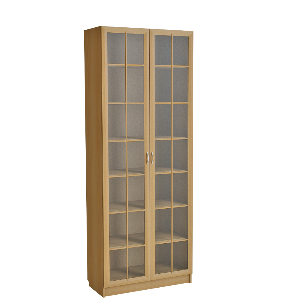 шкаф для книг со стеклом фото
