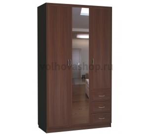 Шкаф 3-х дверный С 485/1 М с зеркалом