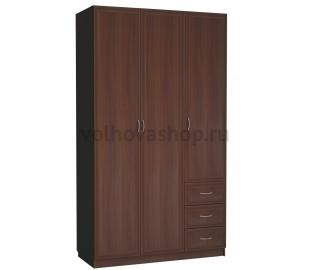 Шкаф 3-х дверный с ящиками (С 485 М)