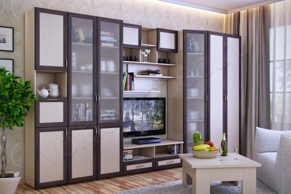 Мебельная стенка береста-3 мебель для гостиной.