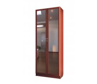 Шкаф для платья с двумя зеркальными дверьми