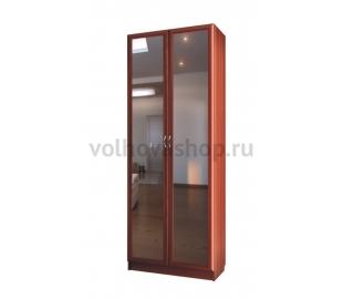 Шкаф для платья и белья двухдверный с зеркалами