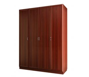 Шкаф для платья и белья четырехдверный
