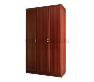 Шкаф для платья и белья трехдверный
