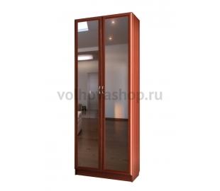 Шкаф для книг с зеркалами