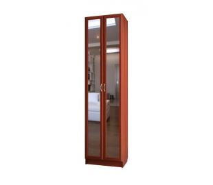 Шкаф для платья двухдверный с зеркалами